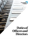 Duties of Officers and Directors cover
