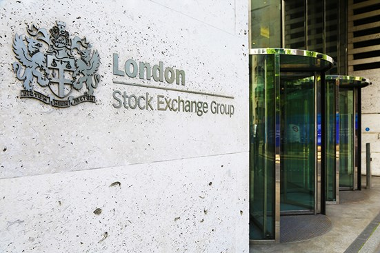 London stock exchange building picture